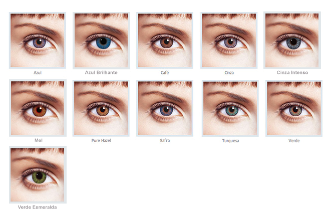 Cores Freshlook Colorblends